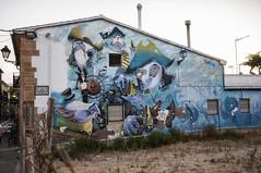 Una de piratas (Guillermo Relaño) Tags: pirata mural denia grafiti graffitti graffiti grafitti guillermorelaño nikon d90 sigma 1020mm wideangle granangular