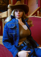 Dannii in the Study (02) (Blondeactionman) Tags: bamhq dollphotography diorama jakes study onesixth onesixthscale agentofbam dannii