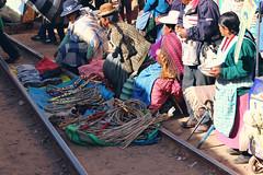 Juliaca Market (misseka) Tags: peru perurail perurailtititaca andes peruvianandes track railroad juliaca market peruvian