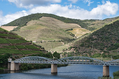 Bridge over the Douro (Wicked Dark Photography) Tags: europe landscape portugal bridge hills river terraces travel vacation