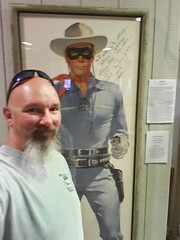 The Lone Ranger (cjacobs53) Tags: jacobs jacobsusa clarence cj selfie lone ranger loneranger theloneranger cowboy museum gun good guy pine lonepine westernfilmhistorymuseum western film history clay moore claymoore california picture movie 119picturesin2019 scavenger hunt annual 2019 poster