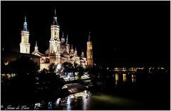 Zaragoza nocturna (jesus.de.leon1) Tags: zaragoza pilar spain españa aragon nocturna ebro rio