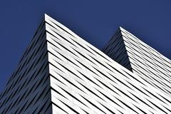 Messe Basel New Hall (RobertLx) Tags: basel 64 architecture modern contemporary switzerland city building geometric lines aluminium europe messebasel messeplatz herzogdemeuron