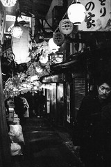 picture 0091 (Logicpierrot_) Tags: filmphotography streetportrait streetphotography cityscape blackandwhite nightphotography monochrome snapshot urban 35mm tokyo portrait noiretblanc alley