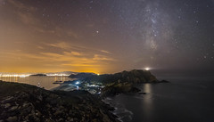 Night in Cies ilands (GC - Photography) Tags: nikon d500 tokinaaf1116mmf28 islascies ciesislands cies pontevedra galicia españa spain nocturna night vialactea milkyway parquenacional nationalpark starlight rocks rocas mar sea costa coast gcphotography cielo sky paisaje landscape nightphotography longexposure largaexposicion ngc