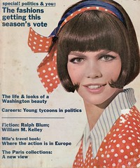Mademoiselle cover shot by George Barkentin 1964 (barbiescanner) Tags: georgebarkentin vintage retro fashion vintagefashion 60s 60sfashions 1960s 1960sfashions 1964 mademoiselle