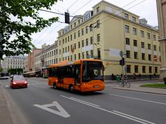Latvia - Riga bus (onewayticket) Tags: bus transport urban ikarus e9154 ikaruse9154 rigassatiksme fc4961 riga latvia street