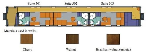 Seven Sars Kyushu Suites Car 5 plan