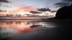 Karekare Beach (Dragostesun Photography) Tags: karekare newzealand aucklandcity aotearoa aps westcoastline beach sol vida newzealandgeographic nature silhouette landscape waitakereranges hillarytrail