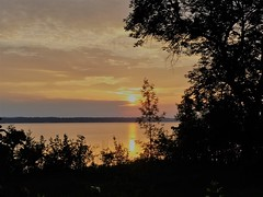 Sun Rise July 06 2019 (Trains By Perry) Tags: sunrises ottawariver july 2019