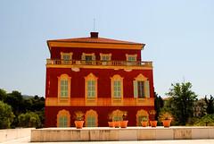 Musée Matisse (zawtowers) Tags: nice france french riviera côte dazur city warm hot sunny sunshine blue sky wednesday 26th june 2019 musée matisse art artist home inspiring cimiez