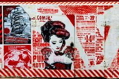 fight government (Rasande Tyskar) Tags: 30works mittenimwald hamburg streetart stencil art street city kunst strasenkunst cut outs