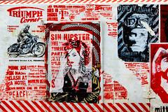 Sin Hipster (Rasande Tyskar) Tags: 30works mittenimwald hamburg streetart stencil art street city kunst strasenkunst cut outs