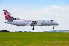 187/365 (Charlie Little) Tags: aviation carlisleairport cumbria loganair planes aeroplane landing nikon d7200 tamron18400mm p365 project365