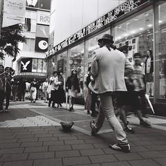 歩く (Architecamera) Tags: people street ikebukuro blackwhite blackandwhite snap film monochrome