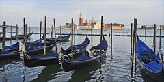Isola di San Giorgio Maggiore (Runemaker) Tags: isoladisangiorgio sangeiogio stgeorge saintgeorge venice venezia italy italia gondolas canal water island nikon d750