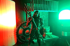 Orange and Green (misterperturbed) Tags: aquaman dccomics jla justiceleague justiceleagueofamerica mezco mezcoone12collective one12collective dceu lifx phillipshue