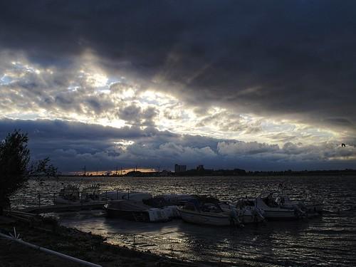 Fehmarn am Abend   Wolken - Sonne - Wasser   5. Juli 2019   Fehmarn - Schleswig-Holstein - Deutschland
