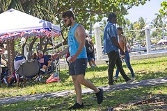 Relax Man (LarryJay99 ) Tags: fourthofjuly july4th2019 lakeworth man men guy guys dude male studly manly dudes handsome people virile tanktop cap sunglasses beard shorts walking cuteguy delraybeach florida