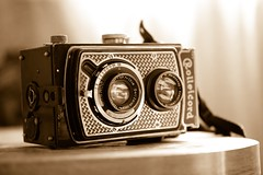 """Art Deco """" Tapeten """"1934 (Listenwave Photography) Tags: cooke natural fv10 tlr 6x6 tool trophy lens triplets triotar zeiss 1934 camera sepia nickel merrill sigma foveon listenwave tapeten rare rolleicord monotone art"""