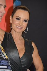 Lisa Ann at Exxxotica Chicago 2019 (hootervillefan) Tags: 2019 exxxotica chicago porn star expo convention hot sexy babes lisa ann lisaann legend black leather dress