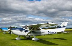 G-MPLA Cessna 182, Scone (wwshack) Tags: ce182 cessna cessna182 egpt psl perth perthkinross perthairport perthshire scone sconeairport scotland skylane gmpla