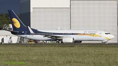 ETAXO 737 Ethiopian Airlines (Jet Airways c/s) (Anhedral) Tags: boeing 737 737800 airliner einn snn shannonairport etaxo vtjbj eth9201 ethiopianairlines