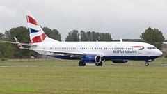 A6FDT 737 Comair/British Airways (Anhedral) Tags: boeing 737 737800 airliner einn snn shannonairport a6fdt comair britishairways
