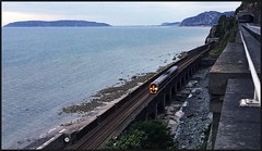 Go West Young Man! (peterdouglas1) Tags: penyclip viaducts transportforwales greatorme penmaenbach northwalescoastrailway northwalescoast