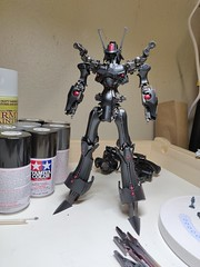 IMG_20190706_052410 (KayOne73) Tags: oneplus 6 mobile photography black knight fss five star stories volks ims plastic injection molded kit robot mecha mortar headd plamo batsh vatsu