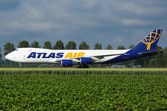N854GT   B748   ATLAS AIR   EHAM (Ashley Stevens images) Tags: amsterdam schiphol airport eham ams canon eos aircraft aeroplane aviation civil airplane n854gt