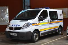 NK59 ABX (S11 AUN) Tags: durham constabulary vauxhall vivaro police driver training driving school response drivertraining drivingschool cell cage station van 999 emergency vehicle nk59abx