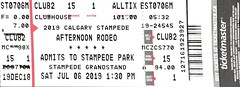 "2019 Calgary Stampede Afternoon Rodeo • <a style=""font-size:0.8em;"" href=""http://www.flickr.com/photos/79906204@N00/48213853071/"" target=""_blank"">View on Flickr</a>"