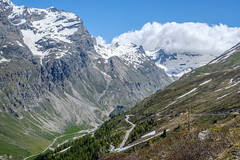 Val d'Isère (RIch-ART In PIXELS) Tags: france valdisère coldeliseran auvergnerhônealpes sky cloud mountain snow ice montagne landscape neige paysage col mountainpass slopes