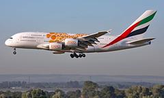 A6-EEY - Airbus A380-861 - LHR (Seán Noel O'Connell) Tags: heathrow emirates airbus a380 lhr heathrowairport dxb egll omdb a388 a380861 expo2020 ek7 a6eey aviation planespotting avgeek aviationphotography uae3jf
