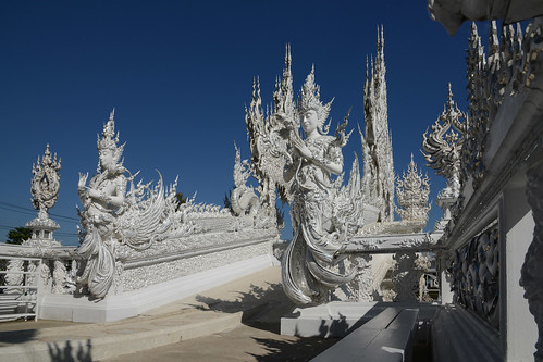 The Wat Rong Khun (White Temple)