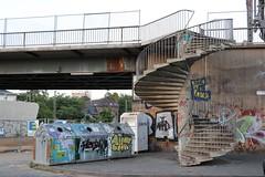 Viktoriabrücke reloaded (michael.heucke) Tags: städtisch decline niedergang expiration verfall bridge brücke viktoriabrücke urban bonn
