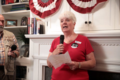 Joan Bolin-Betts (Gage Skidmore) Tags: beto orourke congressman texas house party joan bolin betts home ames iowa
