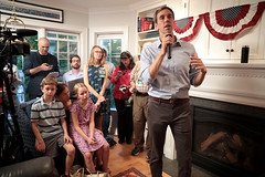 Beto O'Rourke with family (Gage Skidmore) Tags: beto orourke congressman texas house party joan bolin betts home ames iowa amy molly henry