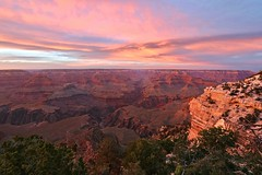 Sunset at Grand Canyon (Saleha Ullah) Tags: grand canyon united states usa us national park nature natural colorado river