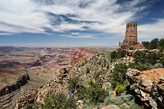 Desert View Watch Tower, Grand Canyon (Saleha Ullah) Tags: grand canyon united states usa us national park nature natural colorado river