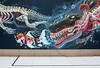 Nychos (Don Claudio, Vienna) Tags: street art kunst vienna wien museum takeover skateboarding karlsplatz graffiti workshop exhibition ausstellung nychos