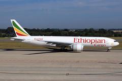 Ethiopian Cargo  Boeing 777-F60 ET-ARI (widebodies) Tags: liege lüttich lgg eblg widebody widebodies plane aircraft flughafen airport flugzeug flugzeugbilder ethiopian cargo boeing 777f60 etari