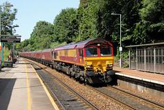 66148 Llanishen (CD Sansome) Tags: llanishen station train trains db cargo schenker ews english welsh scottish railway shed 66 66148 6c93 margam cwmbargoed colliery