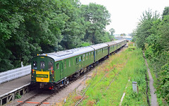 1001 at St Marys. (curly42) Tags: 1001 class201 demu railway deanforestforay dfr transport travel railtour excursion stmaryshalt deanforestrailway