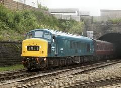 Bury departure (WelshHatter2000) Tags: eastlancashirerailway sulzer class451 45108 buryboltonstreet shuttle britishrail type4 diesel gala summerdieselspectacular
