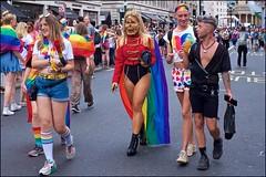 Pride London 2019 - DSCF2326a (normko) Tags: london pride parade 2019 regent street gay lesbian bi trans celebration protest rainbow mask