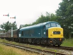 Ramsbottom shuttle (WelshHatter2000) Tags: eastlancashirerailway diesel gala britishrail sulzer class451 45108 ramsbottom type4 summerdieselspectacular shuttle