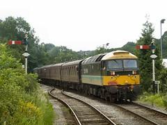 Arrival at Ramsbottom (WelshHatter2000) Tags: summerdieselspectacular eastlancashirerailway diesel gala ramsbottom 47765 class477 scotrail britishrail type4 sulzer brushtraction