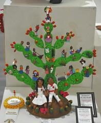 Oaxaca Mexico Pottery Nopal Tree of Life (Teyacapan) Tags: ocotlan aguilar museo mexico oaxaca nopal treeoflife pottery ceramica artesanias